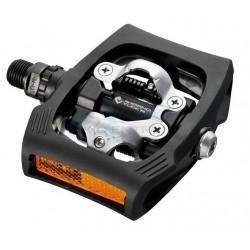 pedále Shimano SPD Click´R PD-T400, s klietkou a zarážkami SM-SH56, čierne
