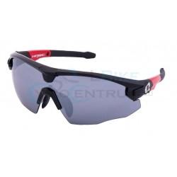 okuliare HQBC QERT Plus, čierne, 3v1