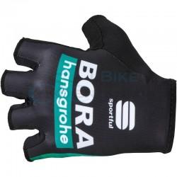 rukavice Sportful Bora Hansgrohe, čierne
