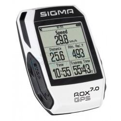 Cyklopočítač Sigma ROX 7.0 GPS , biely