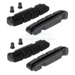 brzdové gumičky cestné Shimano R55C4 BR9000, pre karbónové ráfky, 2.páry,sada